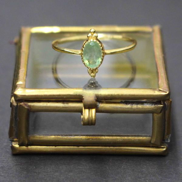 Mintfarbene Madison - Ring gold