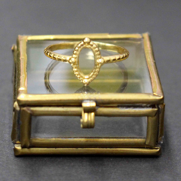 Ovale Octavia - Ring gold