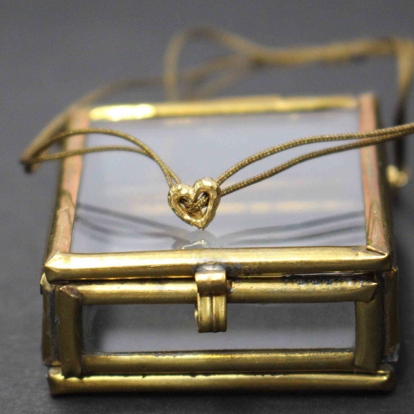 Goldglänzende Astrid - Armband gold