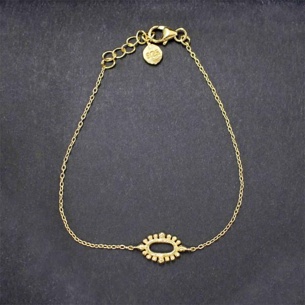Goldene Greta - Armband gold